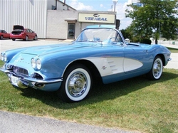 1961 Corvette Convertible by Chevrolet in Ballers