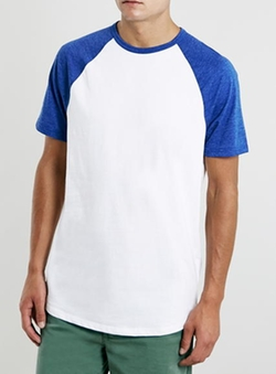 Raglan T-Shirt by Topman in Everybody Wants Some