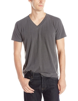 Pigment Basic V-Neck T-Shirt by Splendid Mills in American Pie