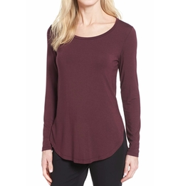 Long Sleeve Knit Tunic by Halogen in Grace and Frankie