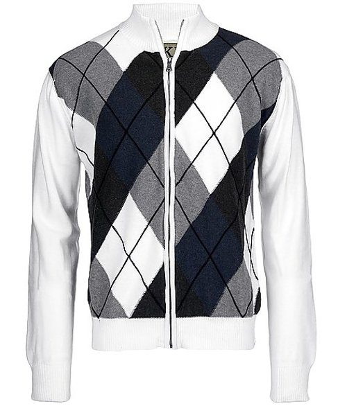 BKE Hutchinson Full Zip Sweater by Buckle Exclusive in Hall Pass