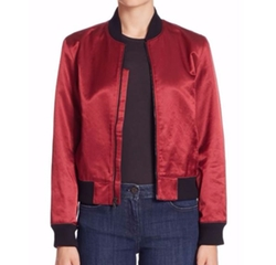 Satin Collection Bomber Jacket by 3x1 in Ghost in the Shell