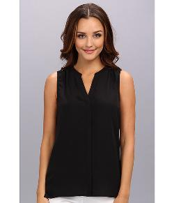 Woven Sleeveless Top by NYDJ in The Disappearance of Eleanor Rigby