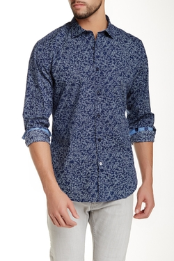 Printed Long Sleeve Shirt by Ganesh in Silicon Valley