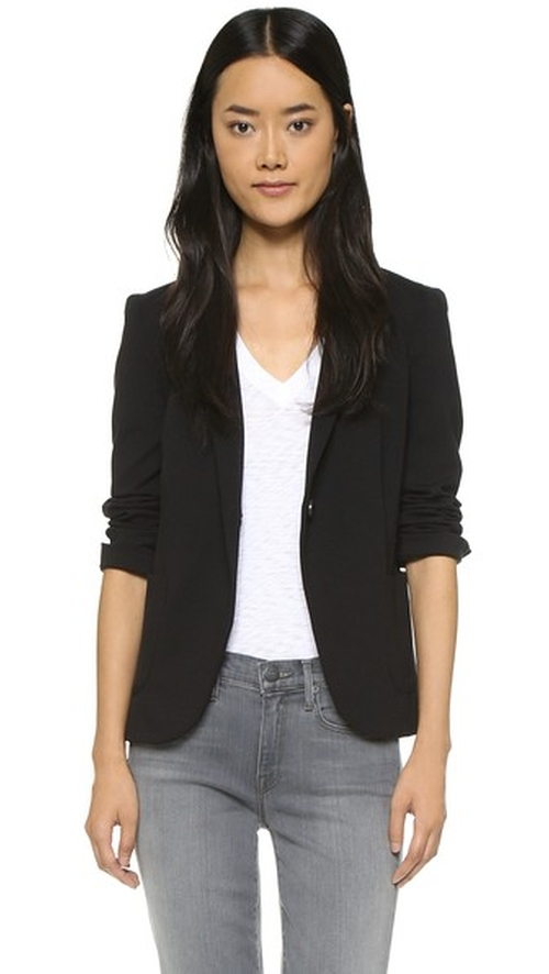 Notched Lapel Blazer by Getting Back To Square One in Scream Queens - Season 1 Episode 9