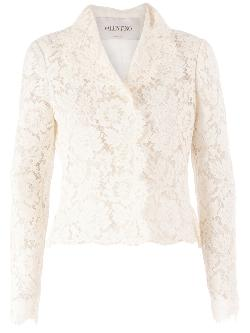 floral lace jacket by VALENTINO in Vampire Academy