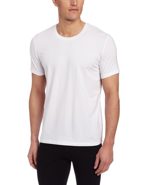 Balance Pima Cotton Modal Crew Neck T-Shirt by Boss Hugo Boss in Straight Outta Compton