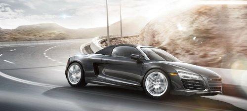 R8 Spyder Car by Audi in Fifty Shades of Grey