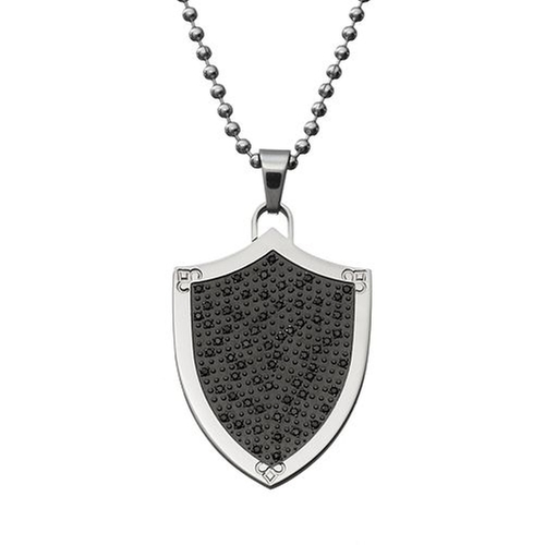 Diamond Shield Pendant Necklace by Kohl's in Nashville - Season 4 Episode 6
