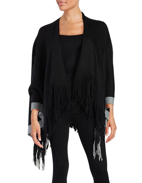 Knit Poncho by Design Lab Lord & Taylor in Jane Got A Gun