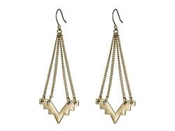 Geo Chandelier Earrings by Lucky Brand in Scream Queens