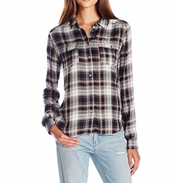 Mya Plaid Shirt by Paige in New Girl