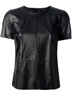 Janette Leather T-shirt by Rachel Zoe in Fast & Furious 6