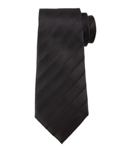 Tonal Dressy-Stripe Tie by Armani Collezioni in Suits