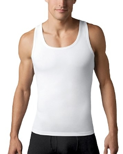Cotton Compression Tank Top by Spanx in The Best of Me