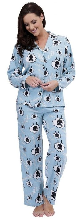 Sheep Print Fleecy Pajama Set by Tom Franks in Pitch Perfect 2