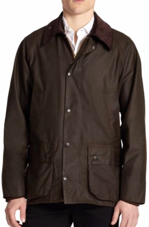 Beaufort Waxed Jacket by Barbour  in Wonder Woman