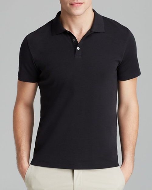 Boyd Census Solid Pique Polo Shirt by Theory in Deadpool