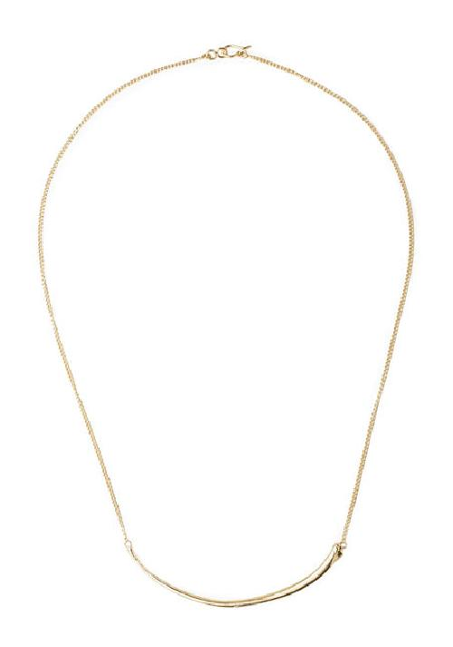 Rib Necklace by LINDSEY ADELMAN in Oculus