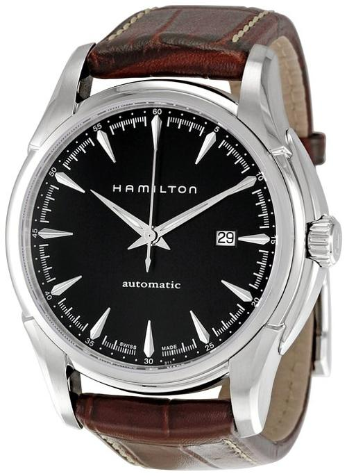 Men's Jazzmaster Viewmatic Black Dial Watch by Hamilton in A Good Day to Die Hard
