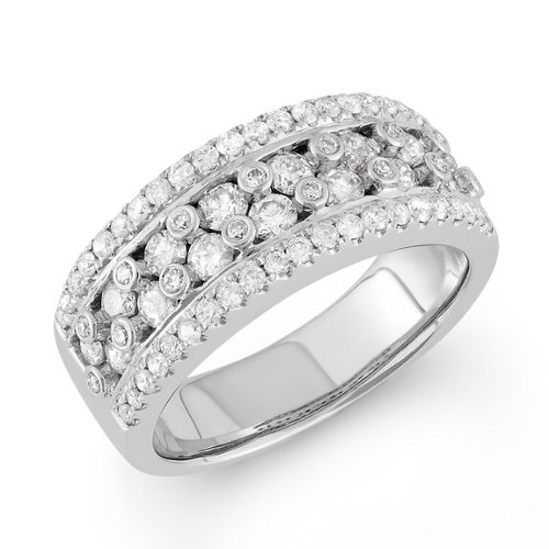 Diamond Wide Confetti Band by Something For Me in Couple's Retreat