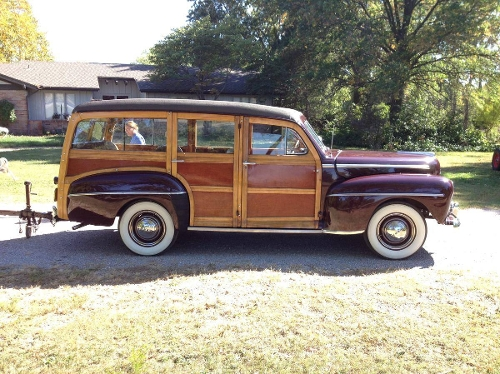 1948 Super Deluxe Woody Wagon by Ford in Love & Mercy
