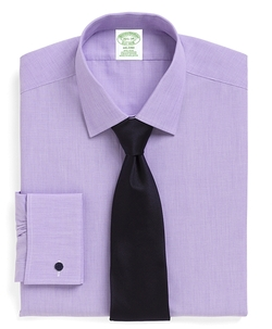Spread Collar French Cuff Dress Shirt by Brooks Brothers in Vacation