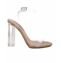 Lucite Heel Sandals by Yeezy Season 2 in Keeping Up With The Kardashians