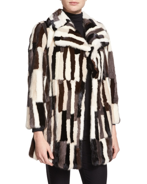 Patchwork-Mink Fur Coat by Co in Empire - Season 2 Episode 10