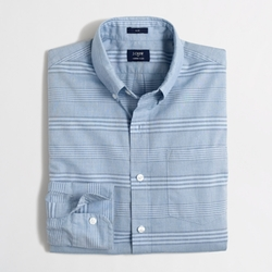 Factory Slim Washed Shirt by J. Crew in Sleeping with Other People