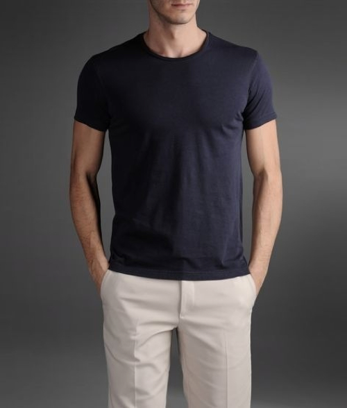 CK One Logo T-Shirt by Calvin Klein in Crazy, Stupid, Love.