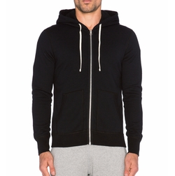 Core Full-zip Hoodie Jacket by Reigning Champ in Keeping Up With The Kardashians