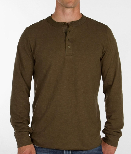 Boone Henley Shirt by Obey in The Ranch -  Looks