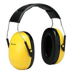 Peltor Optime 98 Over-The-Head Earmuffs by 3M in Ride Along