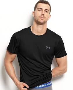 Athletic Flyweight Performance Crew Neck Shirt by Under Armour in Furious 7