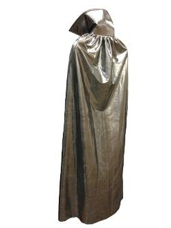 Adult Metallic Silver Cape by MaskManiac in Get On Up