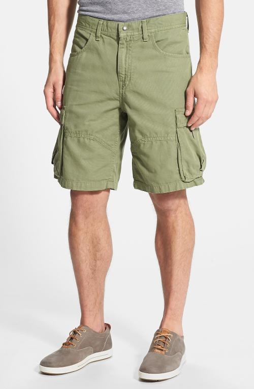 Arcadia Easy Fit Cotton Canvas Cargo Shorts by The North Face in Project Almanac