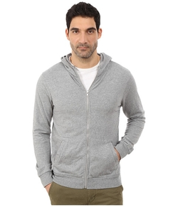 Hideaway Zip Hoodie Jacket by Alternative in Quantico