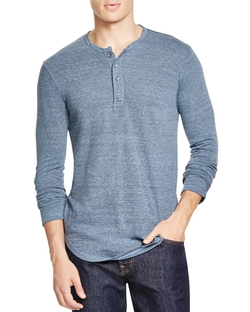 Scalloped Henley Shirt by Goodlife in Teen Wolf