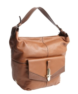 Leather 'Bedford' Flap Pocket Shoulder Bag by Kooba in Poltergeist