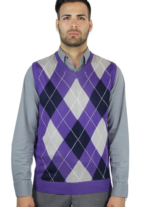 Argyle Sweater Vest by Blue Ocean in High School Musical 3: Senior Year