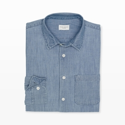 Slim-Fit Chambray Shirt by Club Monaco in Triple 9