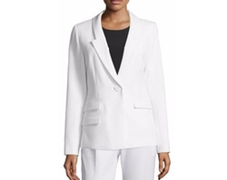 Slim-Fit One-Button Blazer by Milly in Mr. Robot