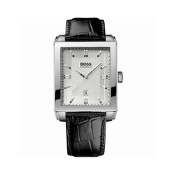 Leather Strap Watch by Hugo Boss in Molly's Game