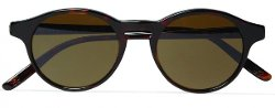 Round-Frame Sunglasses by Bottega Veneta in The Great Gatsby