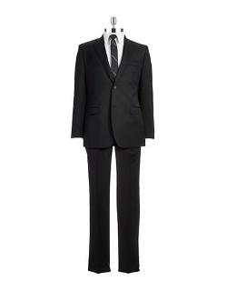 Slim Fit Two-Piece Wool Pants Suit by Ralph Lauren in Savages