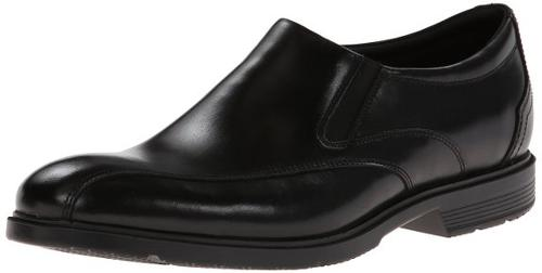 Men's City Smart Bike Toe Slip-On Loafer Dress Shoes by Rockport in Hall Pass