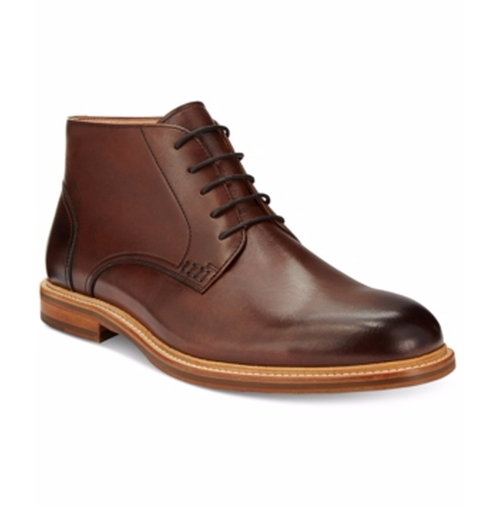 'Bud-Dy' Plain Toe Mid Boot by Kenneth Cole in The Boss
