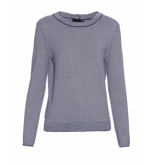 Striped Merino-Wool Sweater by A.P.C. in Star - Season 1 Preview