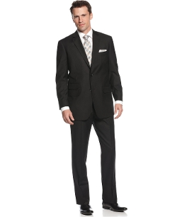 Comfort Stretch Black Suit by Perry Ellis in The Best of Me